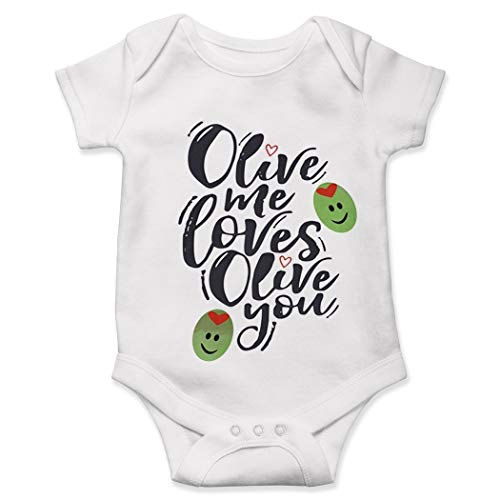 Olive Baby Onesie, Olive Me Love Olive You, Hipster Baby Onesie, Cute Baby...